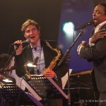 Tim Ries and Bernard Fowler with the Jazz Orchestra of the Amste